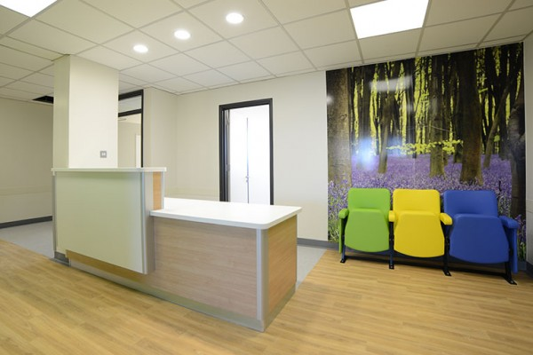 bedford hospital reception