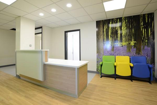 bedford hospital reception