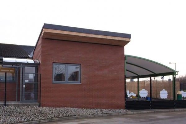 Giles Brook nursery extension