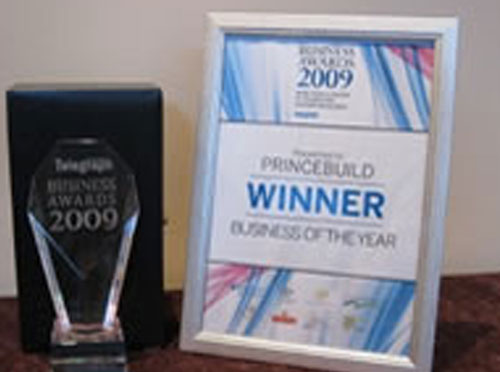 2009 business awards winners
