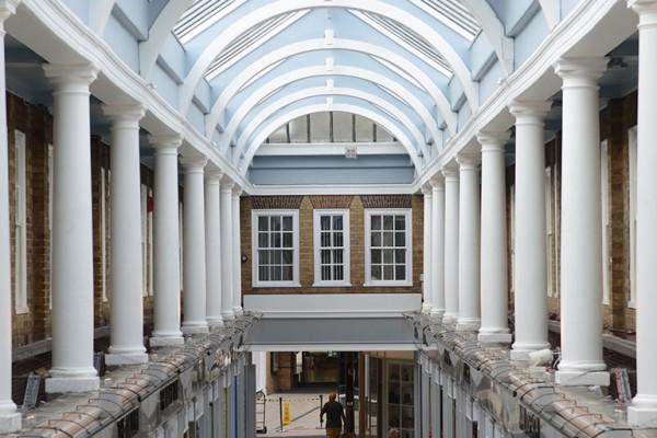 Westgate arcade upper