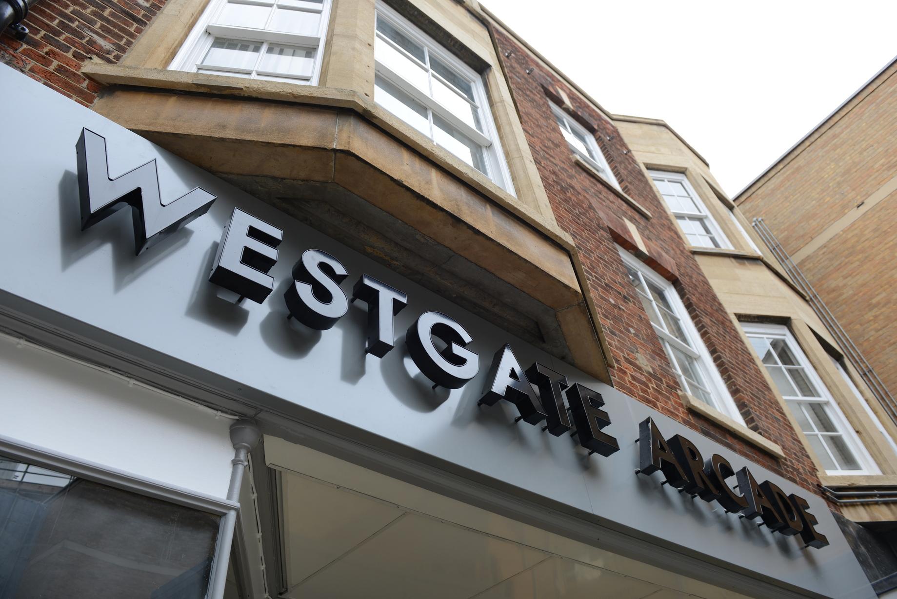 Westgate Arcade Refurbishment