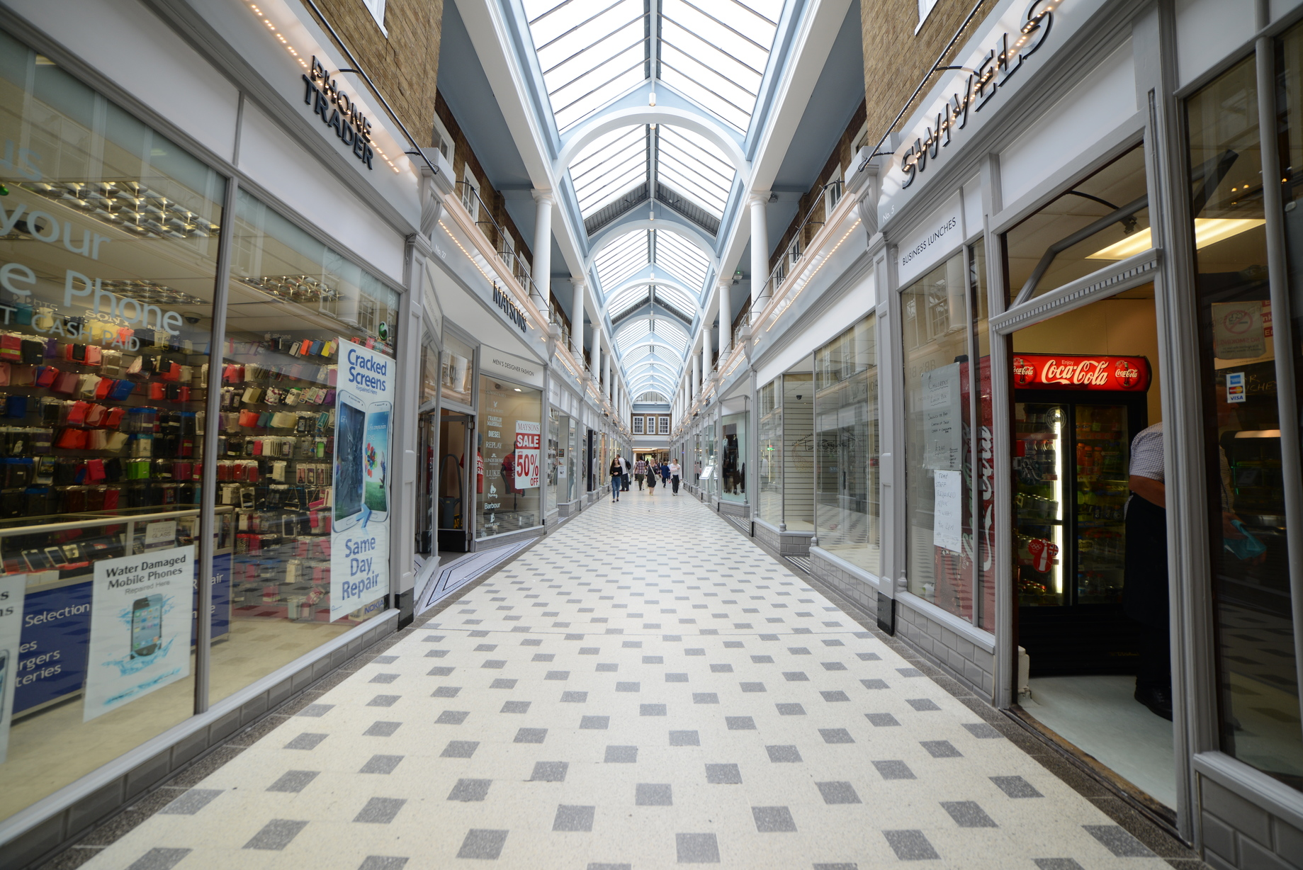 Westgate Arcade Refurbishment