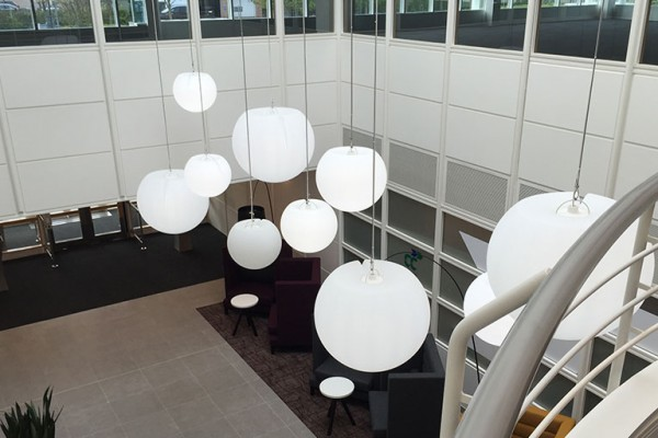 office refurbishment lighting