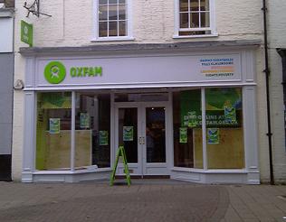 Oxfam Store, Bury St Edmunds