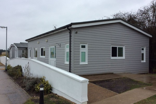 Conversion of Two Flats to Living Accomodation at Thors Park for Danshell