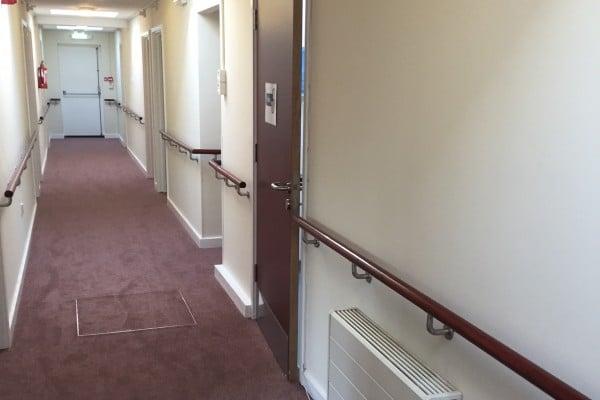 Redecoration of corridors