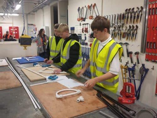 SLGTA skills event plumbing