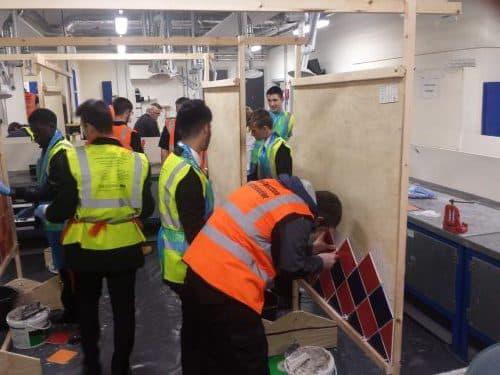 SLGTA skills event tiling