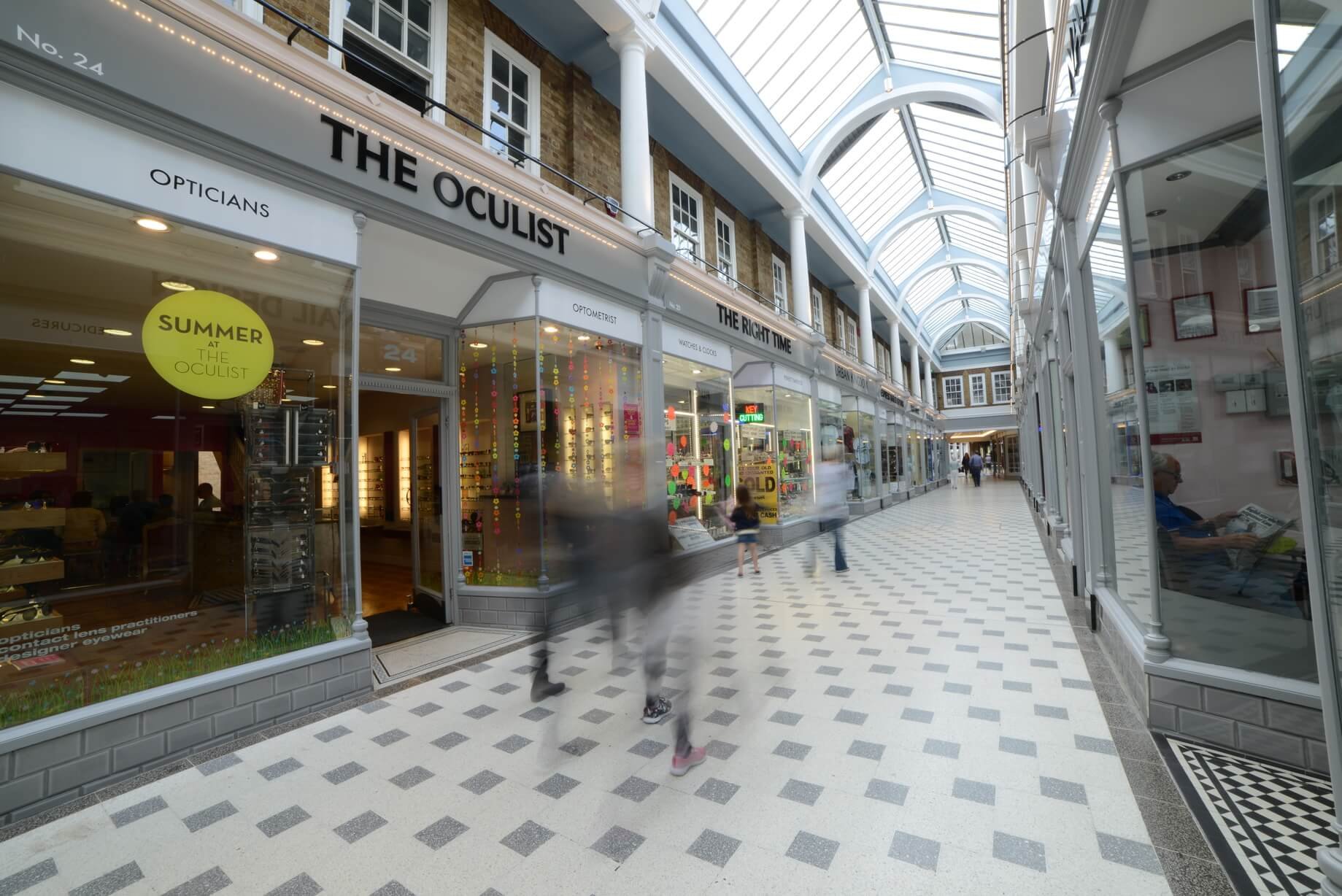 completed Westgate arcade
