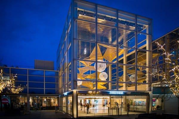 Centre mk atrium by night