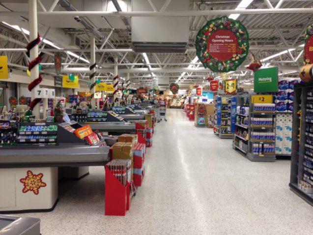 Tills ready for Christmas Trading
