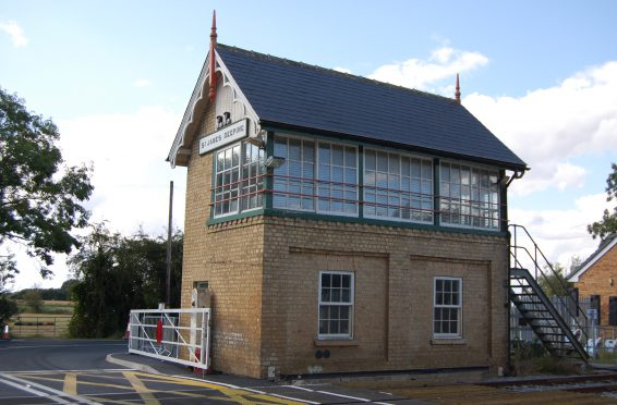 St James Deeping Signal box