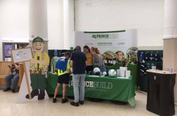 Princebuild stand at kit launch