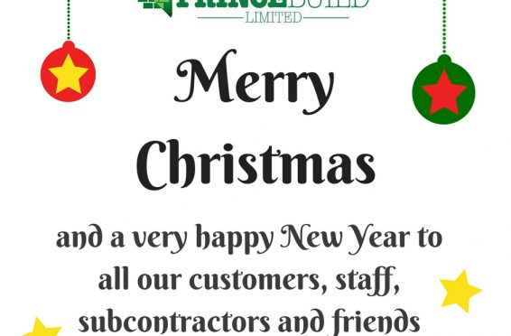 Would like to wish all our customers, staff, subcontractors and friends a-1