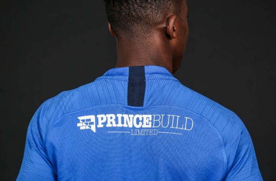 Posh back of shirt sponsorship