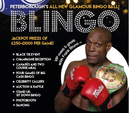 Blingo with Frank Bruno